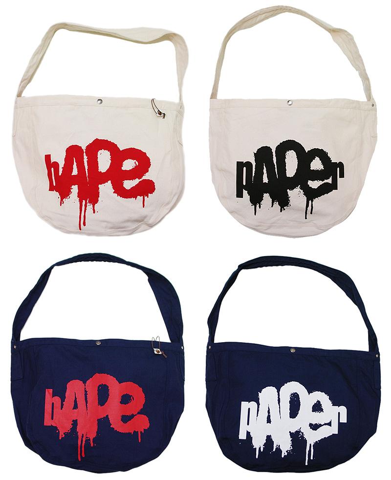A BATHING APE(에이프) BAPE PAPER BAG