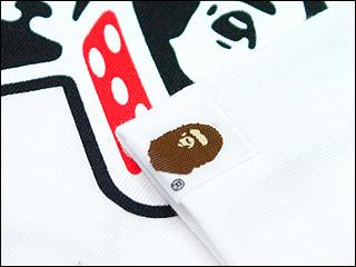 A BATHING APE(에이프) DICE&CAR T셔츠200-002187-040