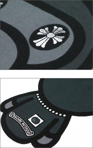 A BATHING APE (エイプ) x CHROME HEARTS (크롬 하트) T 셔츠 TYPE1WHITE 200-002636-020