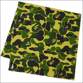 A BATHING APE (APE) BAPE CAMO wrapping GREEN CAMO 290-000771-015