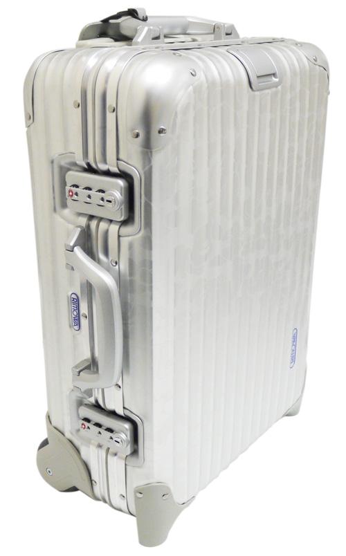 A BATHING APE(에이프) x RIMOWA(리모와) CAMO무늬 트렁크 케이스 SILVER 277-001072-012- [6713-482-002]