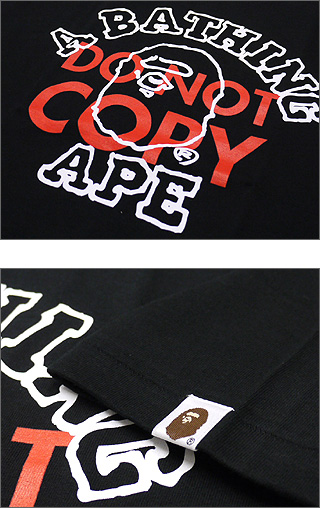 A BATHING APE(에이프) DO NOT COPY COLLEGE T셔츠200-003112-060[1720-110-184]-