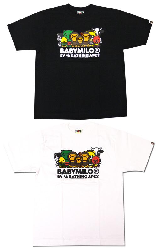 A BATHING APE (エイプ) MILO SAFARI T-shirt 200-003183-040 [1720-110-203] -