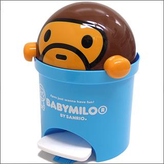 BABY MILO by SANRIO (ベイビーマイロ 바이 산리오) A BATHING APE (エイプ) x SANRIO (산리오) 객실 금고 BLUE 290-001004-014 +