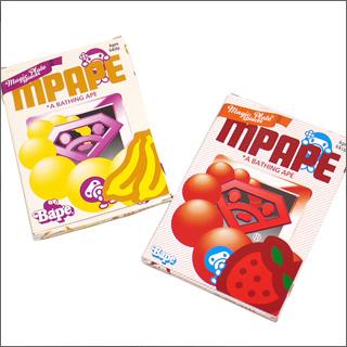 A BATHING APE(에이프) 매직 플레이트 5개 세트 바나나/딸기