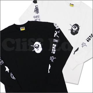 A BATHING APE(에이프) x STUSSY(스테시) STUSSY x BAPE 긴소매 T셔츠202-000372-040-