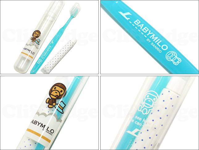 BABY MILO by SANRIO (베이비마이로바이산리오) A BATHING APE(에이프) x SANRIO(산리오) 덴탈 킷 CLEAR 290-001357-019 x
