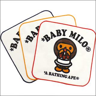 A BATHING APE (APE) BAPE KIDS (ベイプキッズ) BABY MILO CAKE hand towel 290 - 001395 - 011x