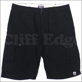 A BATHING APE(eipu)6POCKET短裤BLACK 244-000347-051[1870-153-018]-
