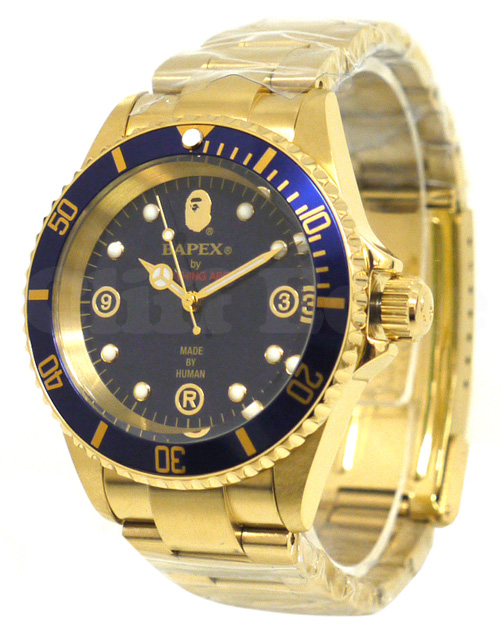A BATHING APE (エイプ) TYPE 1 BAPEX GOLD GOLD 287-000131-018-