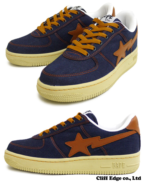 A BATHING APE WORK the TYPE BAPE STA INDIGO 291-001153-277-