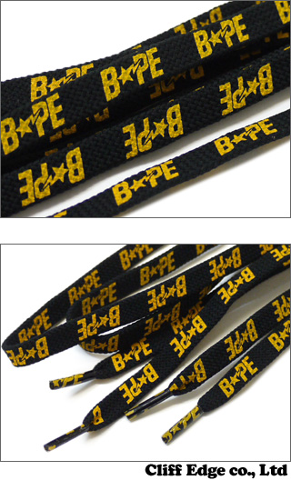 A BATHING APE BAPE STA SHOE LACE[徐比赛]290-002136-040[1960-182-022]-