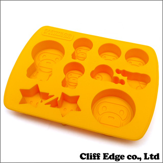A BATHING APE FRED BABY MILO SILICON ICE TRAY [silicon ice tray] YELLOW 290-002548-018 [2013-382-911] -