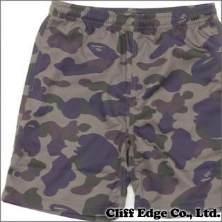 沐浴猿 1 迷彩沙滩裤 (短裤) 绿色 244-000567-035 (1A20-153-029)-