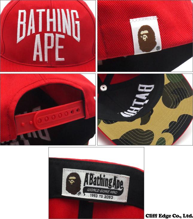 8777b46114753 Cliff Edge  A BATHING APE BATHINGAPE SNAP BACK CAP (snap back CAP ...