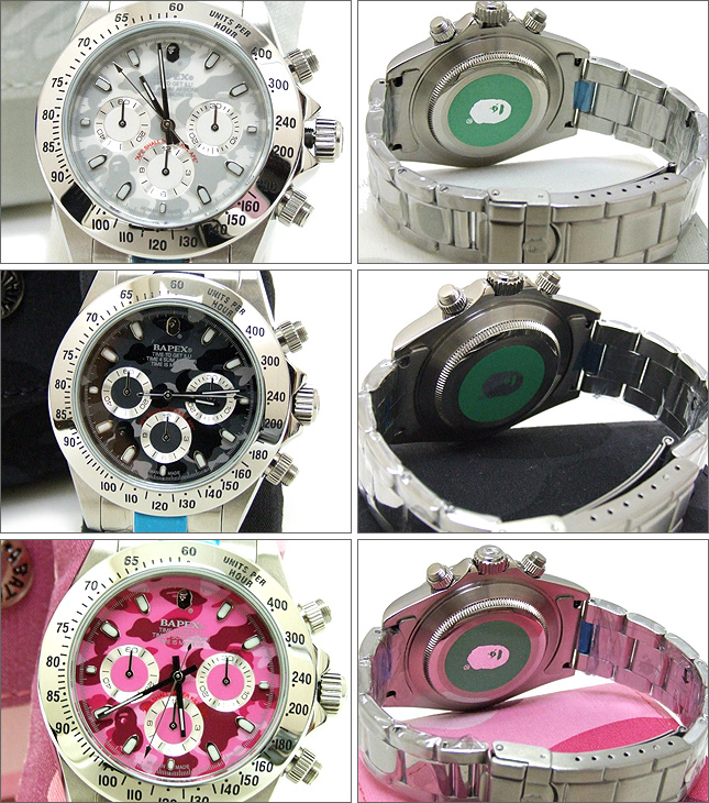 A BATHING APE(에이프) COLOR CAMO BAPEX