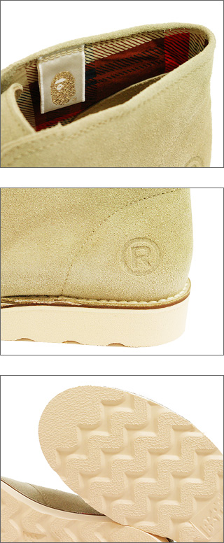 A BATHING APE(에이프) FOOT SOLDIER SUEDEBEIGE 293-000077-266