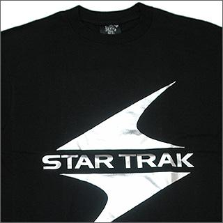 BBC(억만장자 보이즈 클럽) STAR TRAK박프린트 T셔츠 SILVER