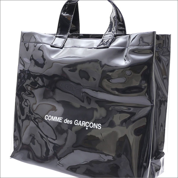 COMME des GARCONS(콤 데 걀슨) BLACK MARKET SHOPPER TOTE BAG (토트 백) BLACK 277-002372-011+