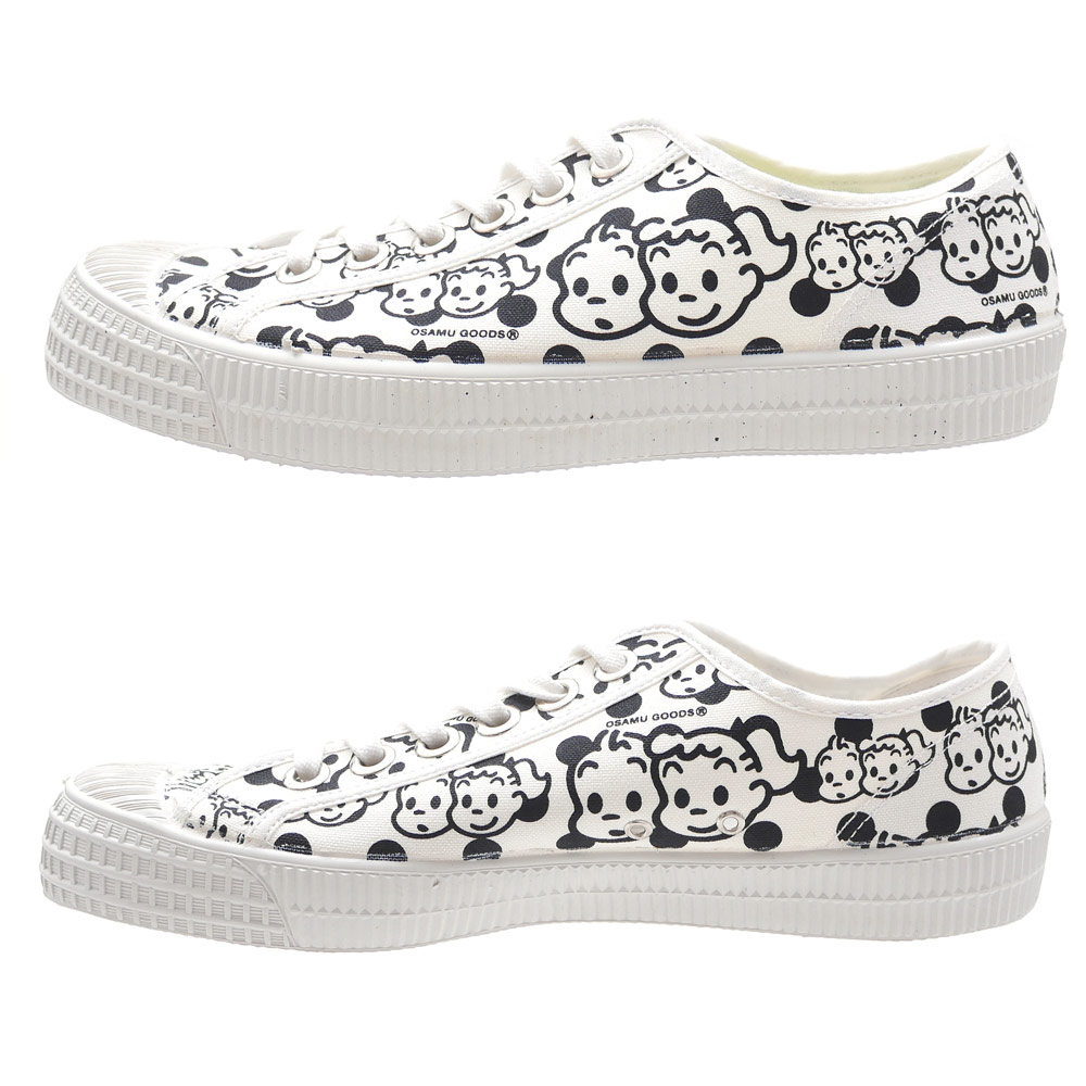 COMME des GARCONS x NOVESTA (Nobe studio) x Osamu Harada STAR MASTER GW FACES (sneakers) (shoes) WHITE 291-002239-250+