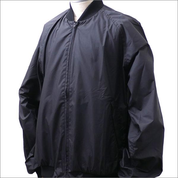BLACK COMME des GARCONS(ブラック コムデギャルソン) x NIKE(ナイキ) SWOOSH DOT NYLON STADIUM JKT BLACK 225-000316-071x【新品】