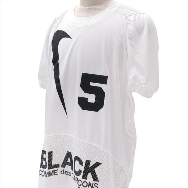 BLACK COMME des GARCONS(ブラック コムデギャルソン) x NIKE(ナイキ) SWOOSH 5 GAME SHIRT(ゲームシャツ) WHITE 203-000258-070x【新品】