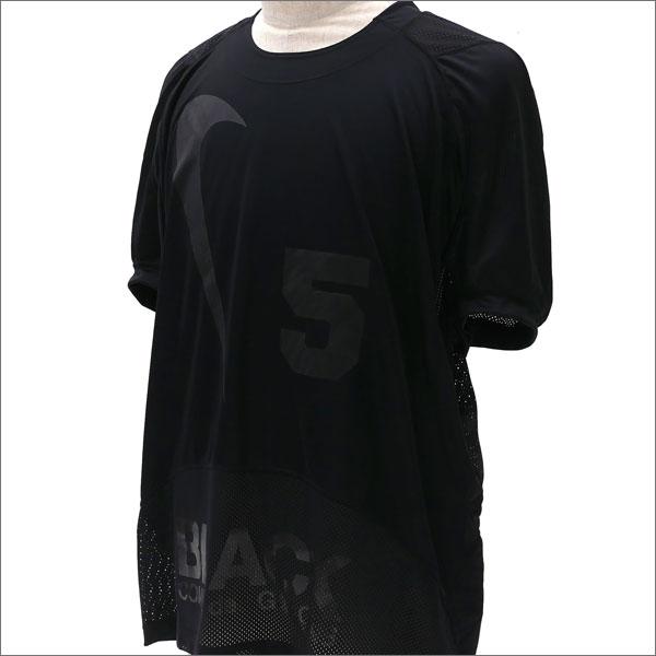 BLACK COMME des GARCONS(ブラック コムデギャルソン) x NIKE(ナイキ) SWOOSH 5 GAME SHIRT(ゲームシャツ) BLACK 203-000258-071x【新品】