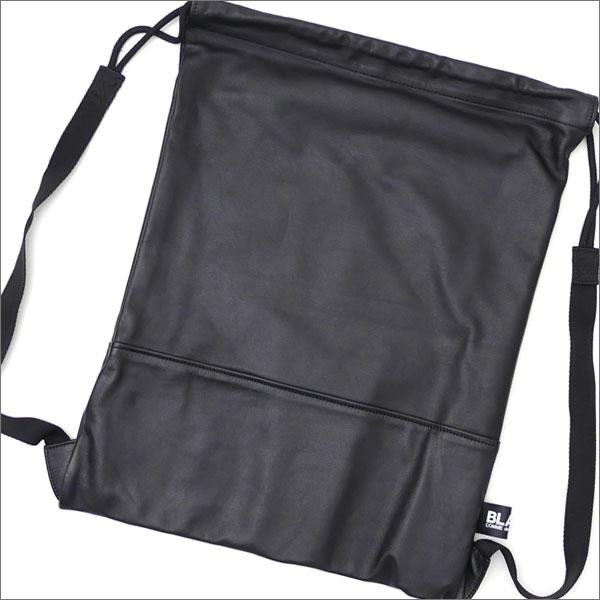 BLACK COMME des GARCONS(ブラック コムデギャルソン) Leather Knapsack L (ナップサック)(バックパック) BLACK 277-002446-051x【新品】