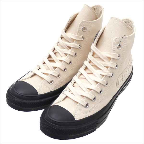 COMME des GARCONS(コムデギャルソン) x CONVERSE ADDICT(コンバース アディクト) CHUCK TAYLOR CANVAS CDG HI NATURAL 291-002341-260x【新品】