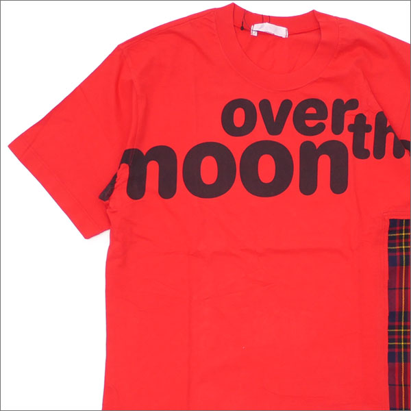 COMME des GARCONS PARFUMS(コムデギャルソン パルファム) over the moon Tee (Tシャツ) RED 200-007666-043x【新品】