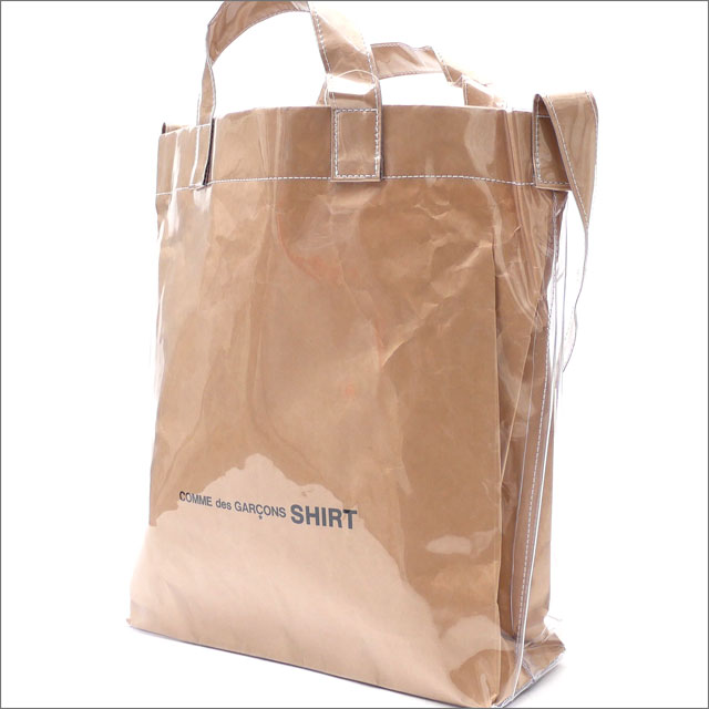 COMME des GARCONS SHIRT(コムデギャルソン シャツ) SHOPPER SHOULDER BAG (ショルダーバッグ) KNR 275-000171-010+【新品】177-000766-999