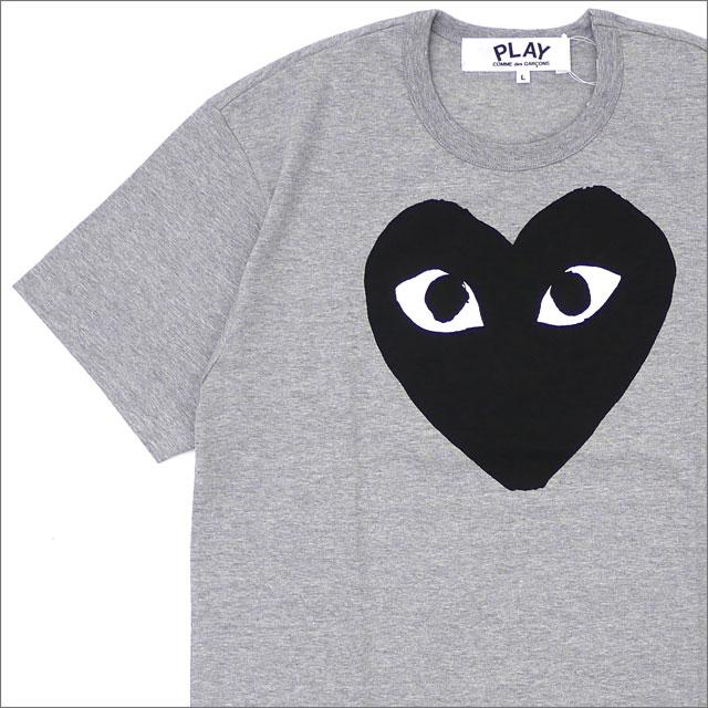 プレイ コムデギャルソン PLAY COMME des GARCONS BLACK HEART TEE Tシャツ GRAY 200007718052 【新品】