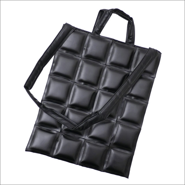 BLACK COMME des GARCONS(ブラック コムデギャルソン) PATCHWORK SHOULDER TOTE (ショルダーバッグ)(トートバッグ) BLACK 277-002488-011x【新品】