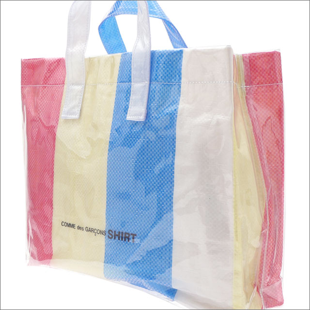 COMME des GARCONS SHIRT(コムデギャルソン シャツ) PVC TOTE BAG (トートバッグ) MULTI 277-002485-010+【新品】