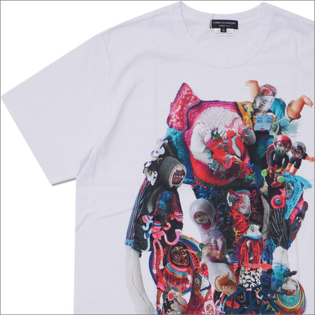 COMME des GARCONS HOMME PLUS(コムデギャルソン オム プリュス) monaluison TEE (Tシャツ) WHITE 200-007775-040x【新品】