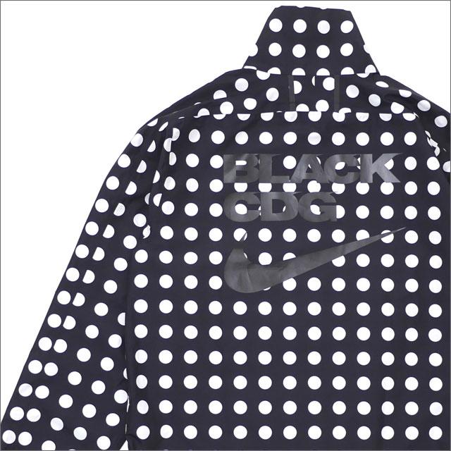 BLACK COMME des GARCONS(ブラック コムデギャルソン) x NIKE(ナイキ) DOT NYLON JACKET (ジャケット) BLACK 225-000367-041x【新品】