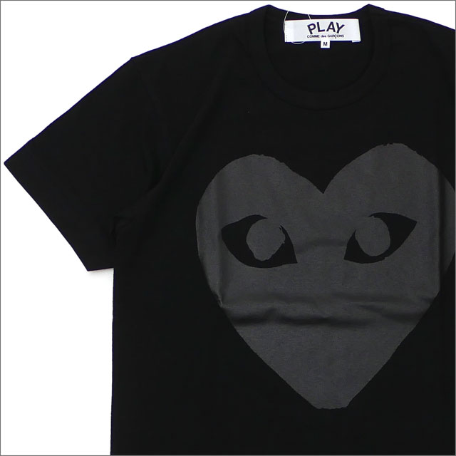 PLAY COMME des GARCONS(プレイ コムデギャルソン) MEN'S BLACK HEART TEE (Tシャツ) BLACK 200-007901-031+【新品】