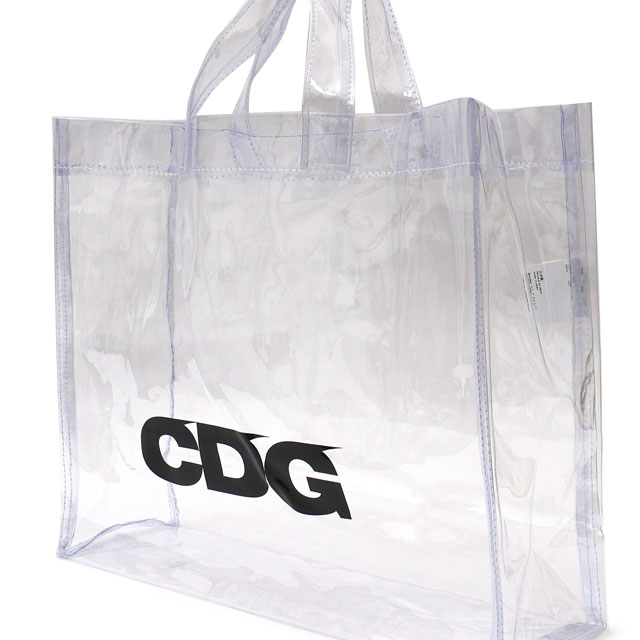 b28d73568b5 CDG シーディージー TRANSPARENT PVC TOTE BAG tote bag CLEAR 277002526010 コムデギャルソン  COMME des GARCONS