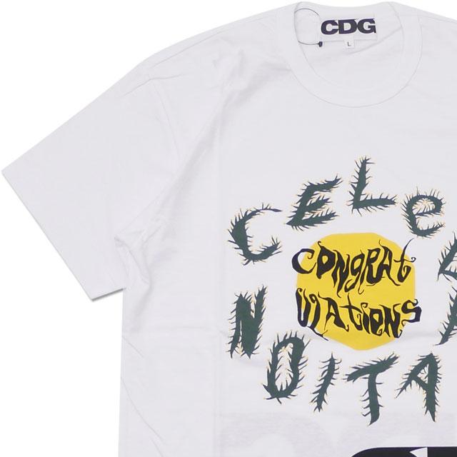 CDG(シーディージー) CACTUS PLANT FLEA MARKET T-SHIRT (Tシャツ) WHITE 200-007915-050x【新品】 COMME des GARCONS(コムデギャルソン)