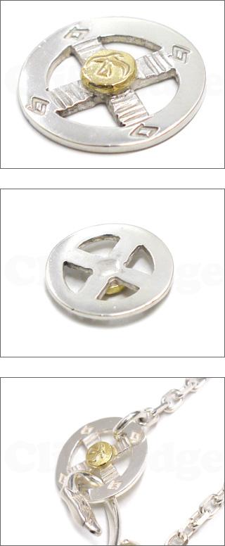 Goro 's (ゴローズ) K18 금속 된 메디슨 바퀴 SILVER 270-000421-012 +