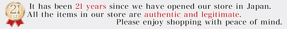 Our products are authentic