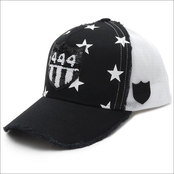 ヨシノリコタケ YOSHINORI KOTAKE 444ロゴ スタープリント メッシュキャップ CAP BLACK 251000999011 【新品】