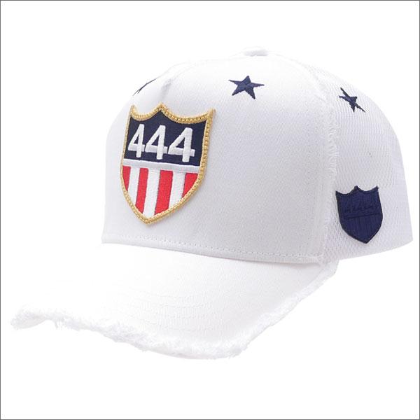 ヨシノリコタケ YOSHINORI KOTAKE 444 LOGO STAR MESH CAP キャップ WHITE 251001117010 【新品】
