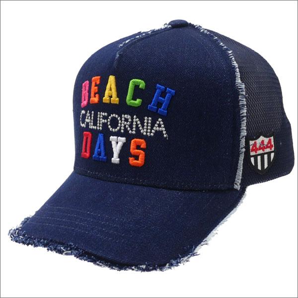 ヨシノリコタケ YOSHINORI KOTAKE BEACH DAYS CALIFORNIA DENIM MESH CAP キャップ INDIGO 251001114017 【新品】