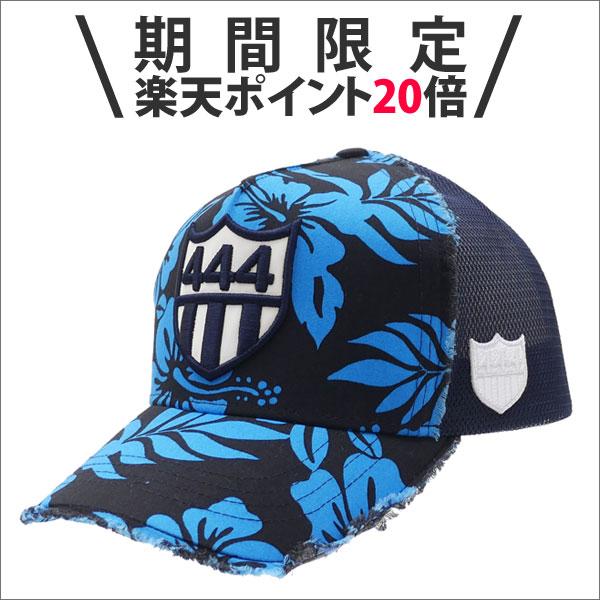 【期間限定ポイント20倍!!】YOSHINORI KOTAKE(ヨシノリコタケ) 444 LOGO ALOHA MESH CAP (キャップ) BLACK 251-001133-011x【新品】