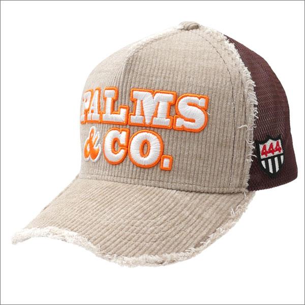 YOSHINORI KOTAKE(ヨシノリコタケ) x Palms&co.(パームスアンドコー) CORDUROY MESH CAP (キャップ) BEIGE 251-001166-016x【新品】