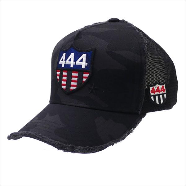 ヨシノリコタケ YOSHINORI KOTAKE 星条旗 444 CAMO MESH CAP キャップ BLACK CAMO 251001190011 【新品】