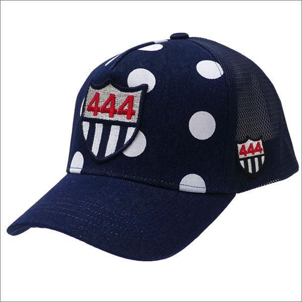 YOSHINORI KOTAKE(ヨシノリコタケ) 444 DOT DENIM MESH CAP (キャップ) INDIGO 251-001184-017x【新品】