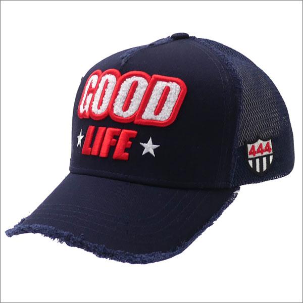 YOSHINORI KOTAKE(ヨシノリコタケ) GOOD LIFE MESH CAP (キャップ) NAVY 251-001198-017x【新品】