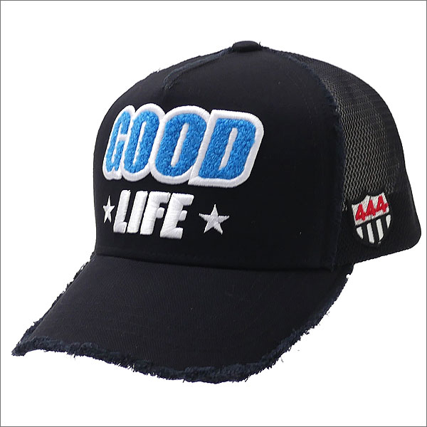 YOSHINORI KOTAKE(ヨシノリコタケ) GOOD LIFE MESH CAP (キャップ) BLACK 251-001197-011x【新品】